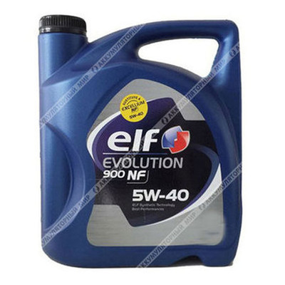 Масло моторное ELF Evolution 900 NF 5w40 4л.