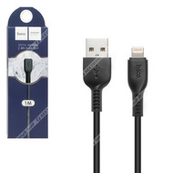 Кабель Hoco X20 USB - Lightning 8pin, 2.4А, 1м, черный (68808)